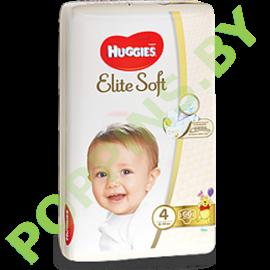 АКЦИЯ Подгузники Huggies Elite Soft 4 (8-14кг) 66шт