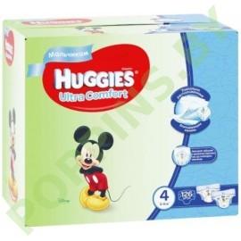 АКЦИЯ Подгузники для мальчиков Huggies Ultra Comfort 4 (8-14кг) 126шт