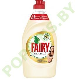 Средство для посуды Fairy ProDerma Алоэ Вера и кокос 450м