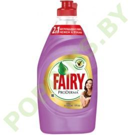 Средство для посуды Fairy ProDerma Шелк и Орхидея 450мл