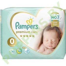 Подгузники Pampers Premium Care 0 (1,5-2,5кг) 30шт