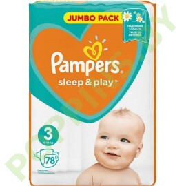 Подгузники Pampers Sleep&Play 3 (6-10кг) 78шт