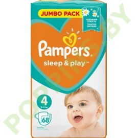 Подгузники Pampers Sleep&Play 4 Maxi (9-14кг) 68шт