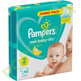 АКЦИЯ Подгузники Pampers New Baby 2 (4-8кг) 94 шт