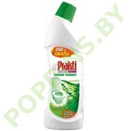 Гель для мытья туалета Dr. Prakti Express Clean Green Forest 750