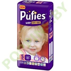 АКЦИЯ Подгузники Pufies Baby Art&Dry 5 Junior (11-20кг) 52 шт