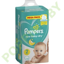АКЦИЯ Подгузники Pampers New Baby 2 (4-8кг) 144 шт