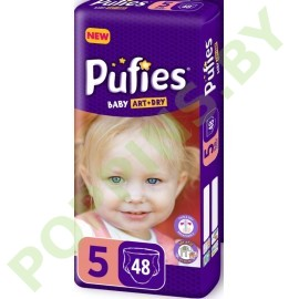 Подгузники Pufies Baby Art&Dry 5 Junior (11-20кг) 48шт