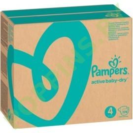 Подгузники Pampers Active Baby-Dry 4 (9-14кг) 174шт