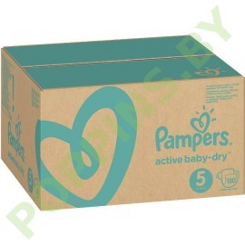 Подгузники Pampers Active Baby-dry 5 (11-16кг) 150шт