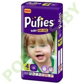 Подгузники Pufies Baby Art & Dry 4 Maxi (7-14кг) 56шт