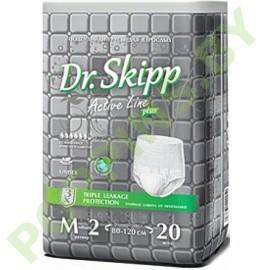 Трусики для взрослых Dr.Skipp (6*) Medium (80-120см) 20шт