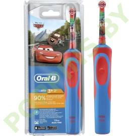 Детская электрическая зубная щетка Oral-B Cars