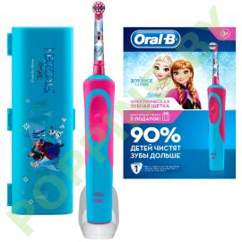 Набор:Детская электрич. з/щетка Oral-B Frozen+ЧЕХОЛ