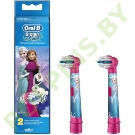 Детские насадки для электрич.щетки Oral-B Frozen 2шт
