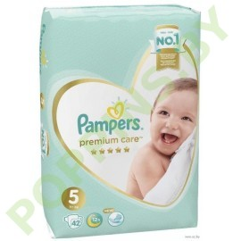 Подгузники Pampers  Premium Care 5 (11+кг) 42шт