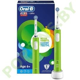 Детская электрическая зубная щетка Oral-B Junior