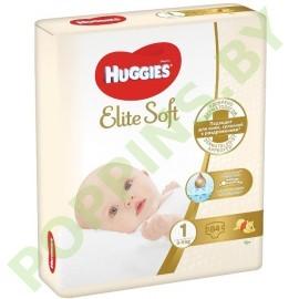 АКЦИЯ Подгузники Huggies Elite Soft 1 (3-5кг) 84шт