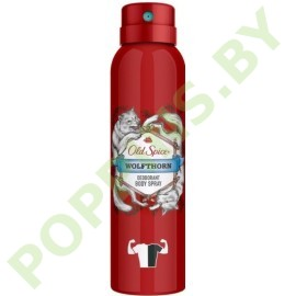 Аэрозольный дезодорант Old Spice Wolfthorn 150мл
