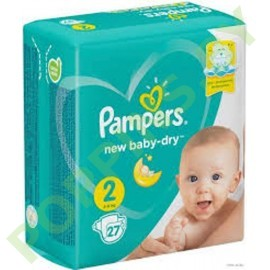 Подгузники Pampers New Baby 2 (4-8кг) 27шт
