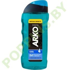 Гель для душа и шампунь для волос 2в1 ARKO Men Cool  260мл