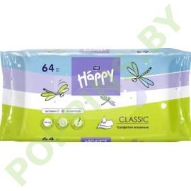 Салфетки влажные для детей Bella Baby Happy Classic  64шт