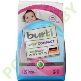 Стиральный порошок для стирки детского белья Burti Baby Compact 900г