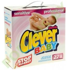 Стиральный порошок для детского белья Clever Baby 2,2кг