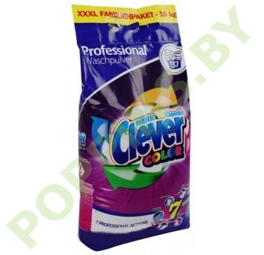 Стиральный порошок Clever Professional Color 10кг
