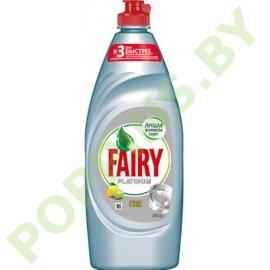 """Средство для посуды Fairy Platinum """"Лимон и лайм"""" 650мл"""