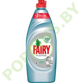 """Средство для посуды Fairy Platinum """"Ледяная свежесть"""" 900мл"""