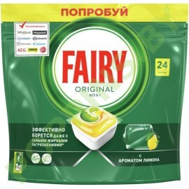 Средство для ПММ (капсулы) Fairy Original All in One Lemon 24шт