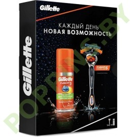 Набор Gillette Fusion ProGlide Flexball (Бритва Fusion ProGlide Flexball+ Гель Fusion5)