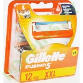 Кассеты сменные Gillette Fusion (12шт)