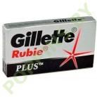 Лезвия для бритья Gillette Rubie Plus 5шт