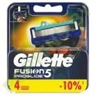 АКЦИЯ Кассеты сменные Gillette Fusion ProGlide (4шт)