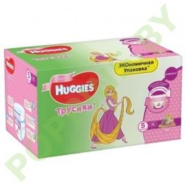АКЦИЯ Трусики для девочек Huggies 5 (13-17кг) 96шт