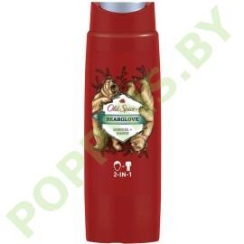 Гель для душа + шампунь 2в1 Old Spice Bearglove 250мл