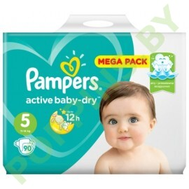 Подгузники Pampers Active Baby-Dry 5 (11-16кг) 90шт