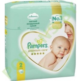 Подгузники Pampers  Premium Care 2 (4-8кг) 20шт
