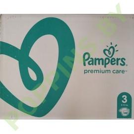 Подгузники Pampers  Premium Care 3 (6-10кг) 148шт
