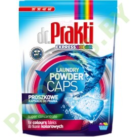 Капсулы для стирки Dr.Prakti Express Color 24шт