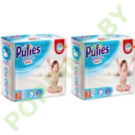Трусики Pufies Sensitive 5 Junior (12-18кг) 42x2=84шт