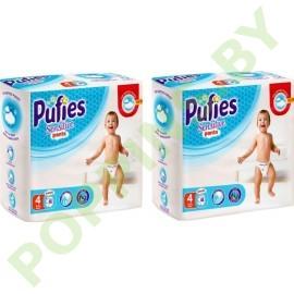 Трусики Pufies Sensitive 4 Maxi (9-15кг) 46x2=92шт