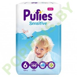 Подгузники  Pufies Sensitive 6 (13+кг) 44шт