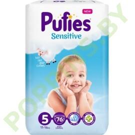 Подгузники Pufies Sensitive 5 (11-16кг) 76шт