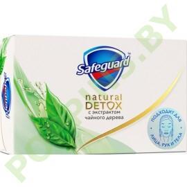NEW Мыло Safeguard Natural Detox с экстрактом чайного дерева 110г