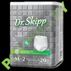 Трусики для взрослых Dr.Skipp Standard (6*) Medium (80-120см) 20шт