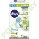Трусики для детей Sleepy Natural 5 Junior (11-18кг) 48шт
