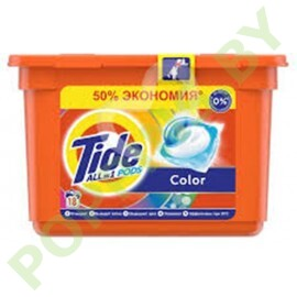 Капсулы Tide Color 18шт